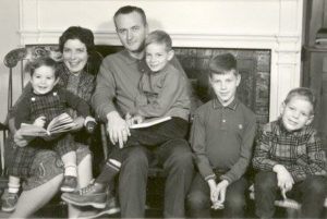 The Farley Family (l-r): Josh, Linda, Gene, Tillman, Jon and Shedd
