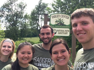 Summer 2015 Badger Volunteers