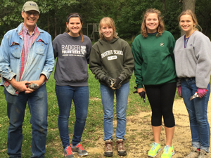 Fall 2016 Badger Volunteers